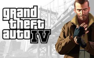 Grand Theft Auto IV Logo Artwork