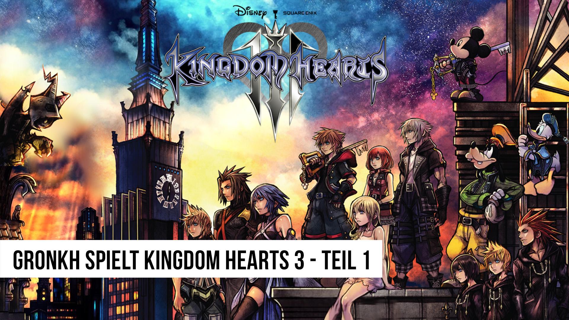 ANGESPIELT 🕹️ KINGDOM HEARTS 3 [1/3] - Herz über Kopf // Theben