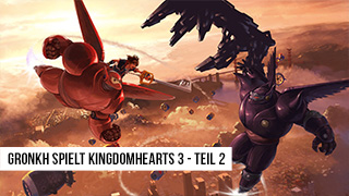 Game TV Schweiz - ANGESPIELT 🕹️ KINGDOM HEARTS 3 [2/3] - Immer Himmelwärts // Olymp