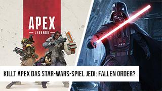 Game TV Schweiz - Killt Apex das Star-Wars-Spiel Jedi: Fallen Order?