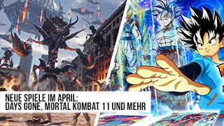 Game TV Schweiz - Neue Spiele im April: Days Gone, Mortal Kombat 11 und mehr - die Release-Vorschau!