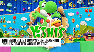 Game TV Schweiz - Yoshi's Crafted World im Test