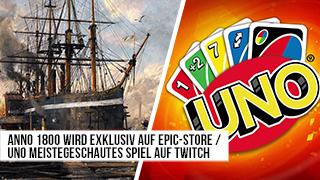 Game TV Schweiz - Anno 1800 wird Epic-exclusive - Uno meistegeschautes Spiel auf Twitch - News