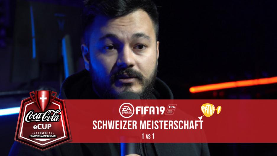 Game TV Schweiz - Halbzeitbericht vom Fifa19 Coca-Cola eCup