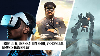 Game TV Schweiz - Tropico 6, Generation Zero, VR-Special, Baba is You | Game Two #110