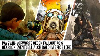 Game TV Schweiz - Pay2Win-Vorwürfe gegen Fallout 76 & Gearbox eventuell auch bald im Epic-Store - News