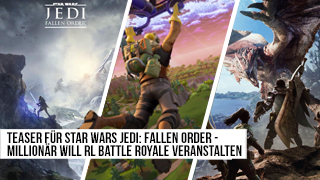 Game TV Schweiz - Teaser für Star Wars Jedi: Fallen Order - Millionär will RL Battle Royale veranstalten - News