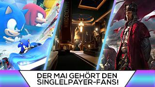 Game TV Schweiz - Der Mai gehört den Singleplayer-Fans!