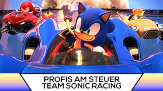 Game TV Schweiz - Mario Kart-Profis probieren Team Sonic Racing