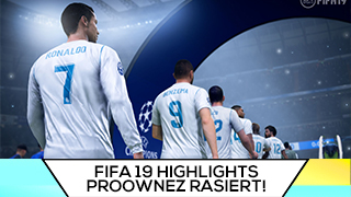 Game TV Schweiz - DIEHAHN hat Lachflash | PROOWNEZ rasiert | FIFA 19 Highlights Deutsch