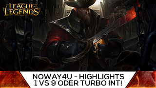 Game TV Schweiz - 1 VS 9 ODER TURBO INT! Best Of Noway4u Twitch Highlights LoL