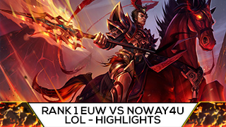 Game TV Schweiz - TF BLADE VS NOWAY4U LISTEN BUDDY! Best Of Twitch Highlights LoL