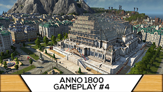 Game TV Schweiz - Anno 1800 - 4 - Wie cool: Pendlerhäfen für Arbeiter [ Anno 1800 Deutsch Gameplay | Let's Play ]