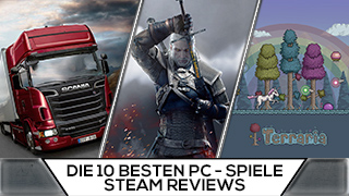 Game TV Schweiz - Die 10 besten PC-Spiele nach Steam-Reviews