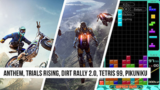 Game TV Schweiz - Anthem, Trials Rising, Dirt Rally 2.0, Tetris 99, Pikuniku | Game Two #105