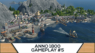 Game TV Schweiz - Anno 1800 - 5 - Schiffswerft & Flotte bauen  [ Anno 1800 Deutsch Gameplay | Closed Beta]