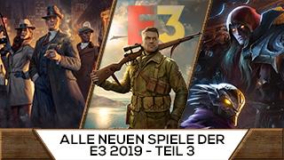 Game TV Schweiz - Alle neuen Spiele der E3 2019 - Teil 3