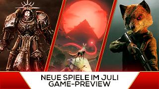 Game TV Schweiz - Juhu, das Sommer-Loch fällt aus - Neue Spiele im Juli