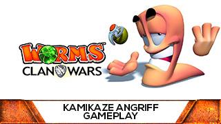 Game TV Schweiz - Kamikaze Angriff des Todes 🎮 Worms Clan Wars