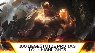Game TV Schweiz - 100 Liegestütze Pro Tag | Best Of Stream Highlights LoL [Deutsch/German]