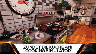 Game TV Schweiz - REWI kann nicht Kochen und ZÜNDET DIE GANZE KÜCHE AN! Cooking Simulator