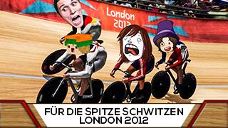 Game TV Schweiz - Vier YOUTUBER fahren RENNRAD und einer wird GETRETEN!