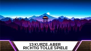 Game TV Schweiz - 13 kurze, aber richtig tolle Spiele