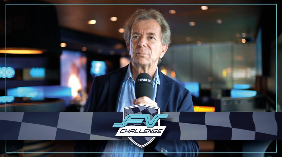 Game TV Schweiz - Formel 1 virtuell: Guido Tognoni (ex. Fifa) zur Eröffnung der Formula V Lounge in Zürich Seefeld