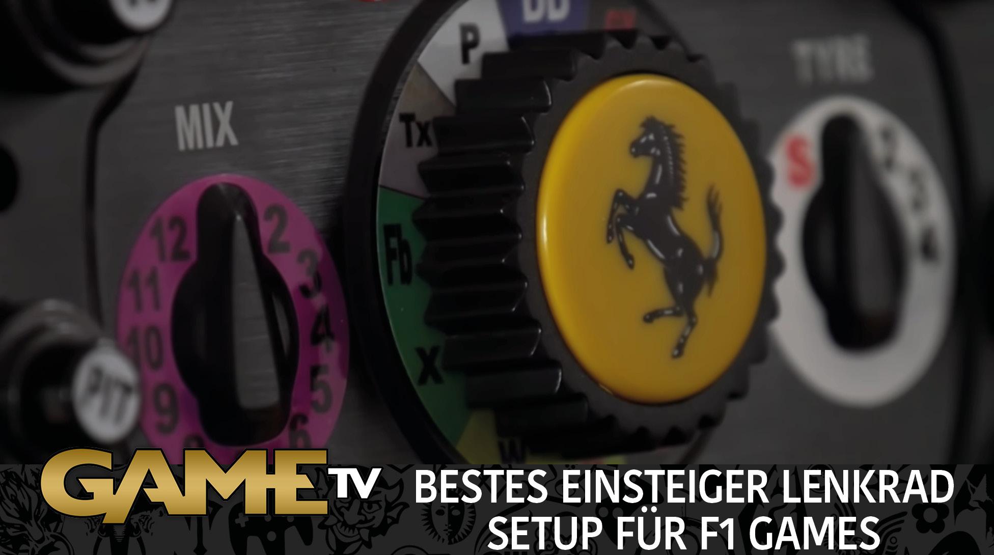 Game TV Schweiz - BESTES EINSTEIGER LENKRAD SETUP FÜR F1 GAMES!? | PS4 REVIEW Deutsch/German
