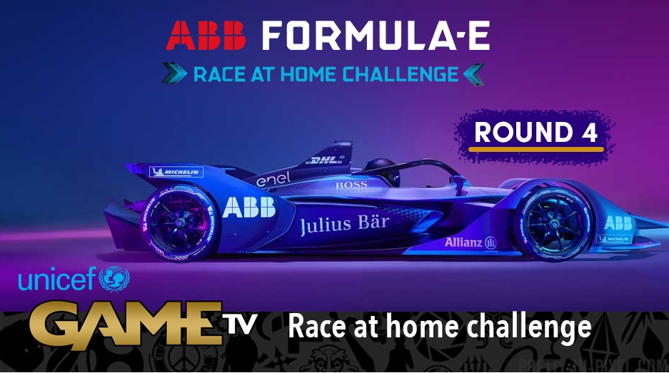 Game TV Schweiz - Round 4 Race LIVE! ABB Formula E Race At Home Challenge In Support Of UNICEF