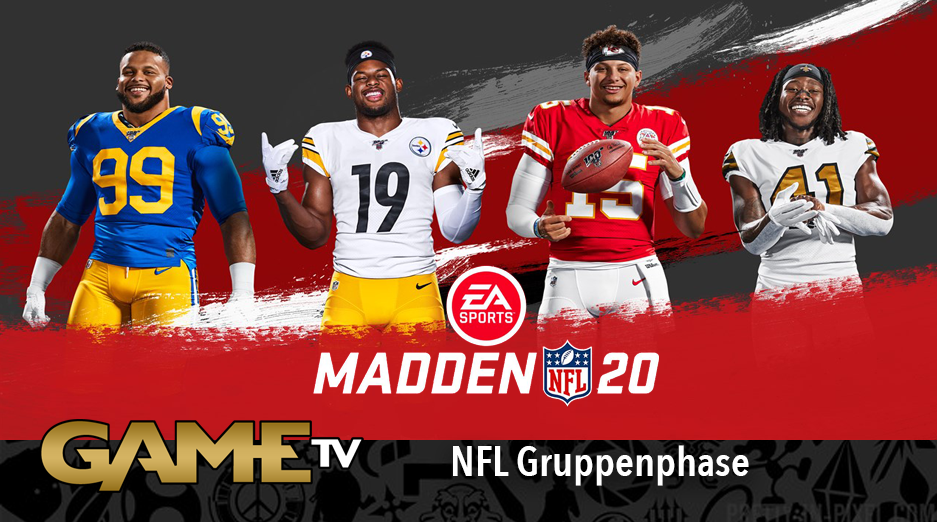 Game TV Schweiz - Madden NFL 20 Bowl | Group A