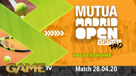 Game TV Schweiz - 🔴Mutua Madrid Open Virtual Pro | Day 2 | Tennis | Livestream | Eurosport
