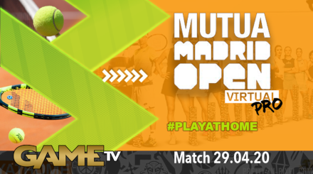 Game TV Schweiz - 🔴Mutua Madrid Open Virtual Pro | Day 3 | Tennis | Livestream | Eurosport