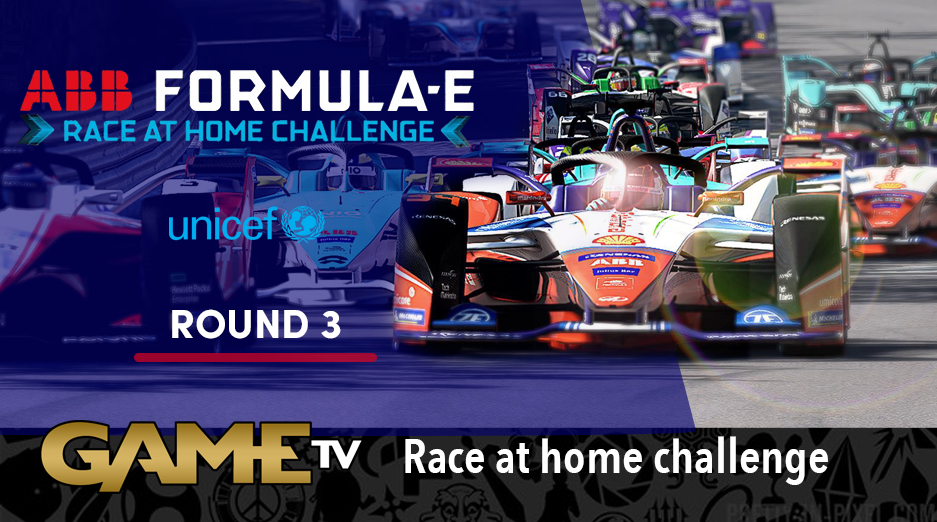 Game TV Schweiz - Round 3 Race LIVE! ABB Formula E Race At Home Challenge In Support Of UNICEF