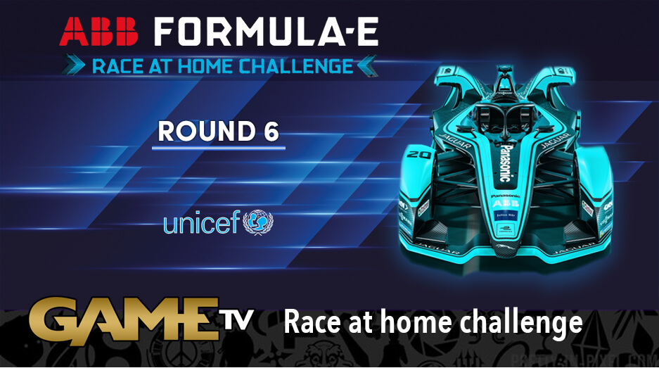 Game TV Schweiz - Round 6 Race LIVE! ABB Formula E Race At Home Challenge In Support Of UNICEF