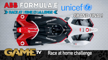 Game TV Schweiz - GRAND FINAL! ABB Formula E Race At Home Challenge In Support Of UNICEF