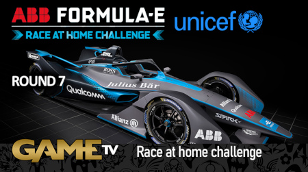 Game TV Schweiz - Round 7 Race LIVE! ABB Formula E Race At Home Challenge In Support Of UNICEF