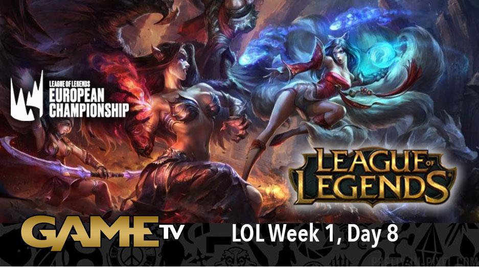 Game TV Schweiz - League of Legends| LoL - LEC Summer Split - Week 1, Day 8 | Vitality vs. Excel Esports (2020)